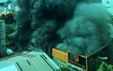 Thế giới di động bị cháy