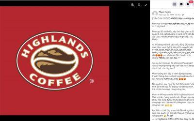 Tẩy chay Highland Coffee